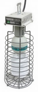 15720 EPCO TIGRESS 105-WATT COMPACT FLUORESCENT LAMP, SAFETY CAGE AND LAMP GUARD 78032115720