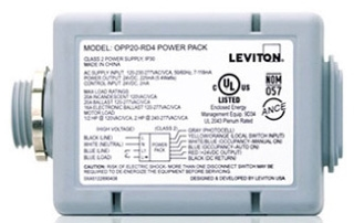 OPP20-RD4 LEVITON 20A AUTO/MAN ON SW PC 07847763402