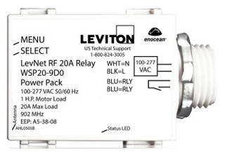 WSP20-9D0 LEVITON 20A RELAY POWER PACK 07847771359