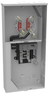 U5168-XTL-200-KK MILBANK METER MAIN ALL-IN-ONE W/8 CIRCUIT INTERIOR