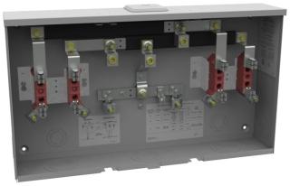 U3522-XL-K1 MILB 2-125A-POS METER BASE, RING TYPE