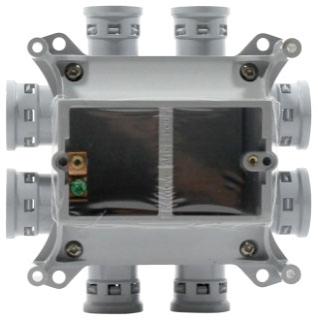 SVDB-H-15/20 IPEX PVC SLAB BOX 62245433350