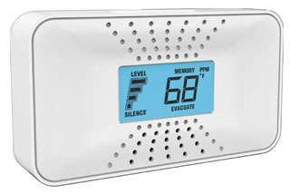 CO710 BRK 10-YEAR SEALED BATT CO ALARM W/DISPLAY