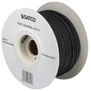 93-211 18/2 Rayon Braid 90C Wire 250 Ft./Spool