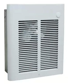 SRA2024DSF BER RECESSED WALL HEATER WHITE