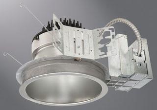 LD8A401D010TE PORTFOLI 8IN LED PLAS FRAME 4000 LUM 120V TE 0-10 08008369635