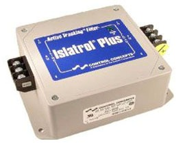 IC+205 CCC ISLATROL ACTIVE TRACKING FILTER 240VAC 1PH 5.0AMP 1.2KVA 50/60HZ BI-DIRECTIONAL EMI&RFI NOISE REJECTION W/BARRIER STRIP AT INPUT/OUTPUT 63391407171