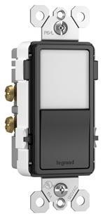 NTL-873BKCC6 P&S RADIANT NIGHT LIGHT + SP/3WAY SWITCH BK 78500703226