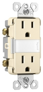 NTL-885TRLACC6 P&S N LITE+2 15A TR OUTLETS+LOUVER LA 78500703237 6/MINIMUM
