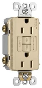 1597-I P&S SELF-TEST GFCI RECEP 15A 125V 20A F I 78500703573