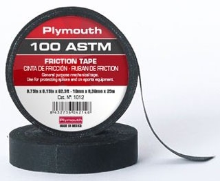 1002PLY PLY BLACK 3/4X60 FRICTION TAPE USE 1755-3/4X60