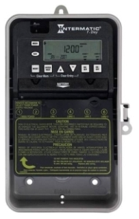 ET1725CPD82 I-MATIC 7-DAY 30 AMP 2XSPST OR DPST ELECTRONIC TIMESWITCH - CLOCK VOLTAGE 120-277V NEMA 3R PLASTIC