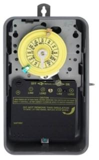 T104R INT NEMA3R STEEL CASE 208-277V DPST GREY CASE
