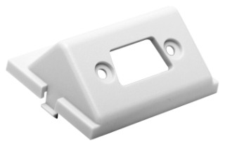 IMBDSA15W HUBBELL ISTATION MODULE, ANG,D-SUB,UNLD,1.5U,WH