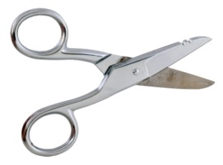OFSCSRS HUBBELL FIBER OPTICAL SCISSORS KEVLAR