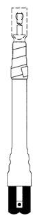 5625K 3M COLD SHRINK TERMINATION KIT-NON-SKIRTED (3 TERMS/KIT) 05400712255