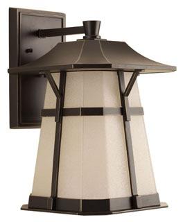 P5751-2030K9 PROGRESS 1-9W LED 3000K WALL LANTERN
