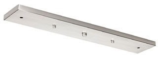 P8404-09 PROGRESS LINEAR CANOPY KIT BRUSHED NICKEL