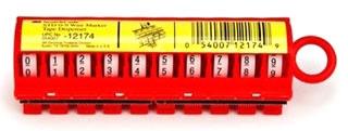 STD0-9 MMM TAPE DISPENSER W/NUMBERS 0-9