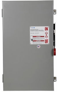 DH364UGK CH SAFETY SWITCH NON-FUSIBLE 3P 200 AMP 600V NEMA 1