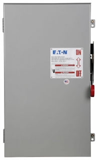 DH364URK CH SAFETY SWITCH NON-FUSIBLE 3P 200 AMP 600V NEMA 3R