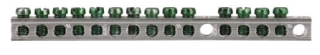 GBK14 CH 14 TERMINAL GROUND BAR 5.69 IN FOR BR & CH LOADCENTER