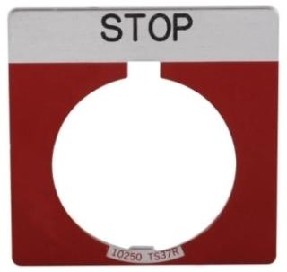 10250TS34 CH LGD PLT SQ STOP