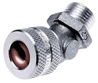 VHC-1036 HUB 3/4 45D CONN