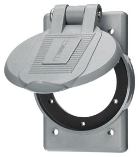 WP2 HUB WEATHER-PROOF COVER PLATE