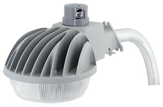 DDL-140L-1 HUBBELL DUSK-TO-DAWN LED 43W ARM INCL. 78598803112