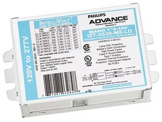 IZT2S26M5LD35M ADVANCE ELE DIM BAL (2) 26W CFL (4-PIN) 120-277V 78108703285