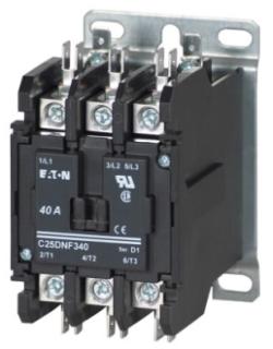 C25DNF340A CH OPEN N-R 3P 40A DP CONT BOX LUGS W/QC TERM 120VAC COIL
