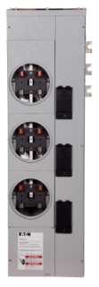 1MM312R CUTLER-HAMMER 1 PHASE RING M.M. 3 SOCKETS,125A