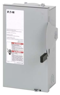 DG221NRB CH SAFETY SWITCH FUSIBLE 2P 30 AMP 240V NEMA 3R