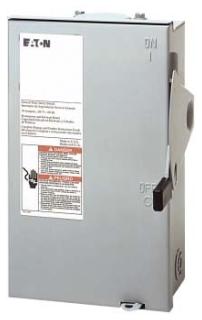 DG221URB CH SAFETY SWITCH NON-FUSIBLE 2P 30 AMP 240V NEMA 3R