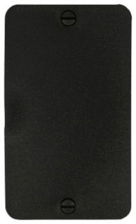 WD3061BK CWD BLANK COVER PLATE
