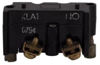 E30KLA1 CH CONT BLK PRESS TRM STD 1NO