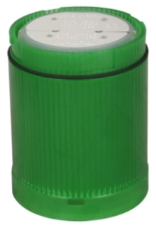 E26B3 CH STACKLIGHT LENS AND DIFFUSER UNIT LESS BULB GREEN INCANDES-