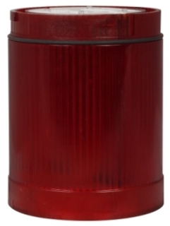 E26BR1V4 CH LENS AND DIFFUSER UNIT-RED CYLINDRICAL LED 125VAC/DC