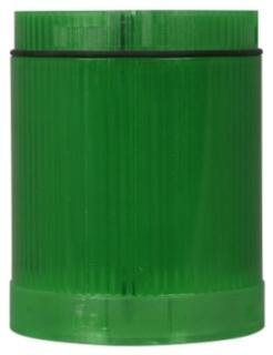 E26BG1V2 CH LENS AND DIFFUSER UNIT-GREEN CYLINDRICAL LED 24VAC/DC