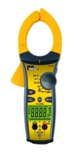 61-775 IDL 1000A AC/DC CLAMP W/TRMS IDEAL; CLAMP METER; TIGHTSIGHT; 770 SERIES WITH TRMS, CAPACITANCE, FREQUENCY; RESISTANCE: 0 TO 999.9 OHM , 1000 TO 9999 OHM AT 1.5 PCT + 5 ACCURACY; CAPACITANCE: 0 TO 999.9 MFD AT 5 PCT PLUS 15 ACCURACY; DISPLAY: 4 DIGIT LCD WITH 9999 COUNTS FOR BOTH DISP