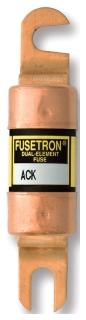 ACK-25 BUSSMANN FUSETRON DUAL ELEMENT (1) 05171270128