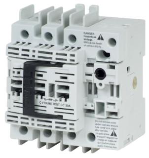 R4H3030FJ CH UL489, H-FRAME, 3POLE, 30AMP, J-FUSIBLE ROTARY DISCONNECT