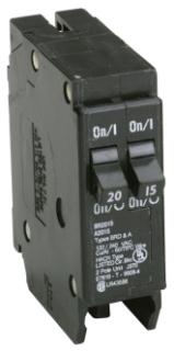 BR2015 CH DUPLEX CIRCUIT BREAKER 2P 15/20 AMP 120V