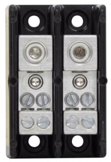 16220-2 BUS 2P POWER DISTR. & TERM. BLOCK 2/0-14 TO 4-14AWG