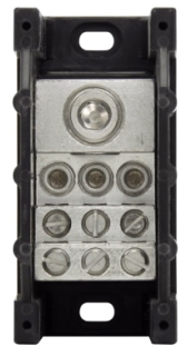 16371-1 BUSS 1P POWER DISTR. & TERM. BLOCK 350-6 TO 2-14AWG (1)