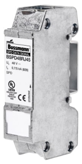 BSPD48RJ45 BUSS 48V DATA SIGNAL DIN RAIL RJ45 SPD (1) 05171239897