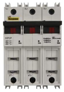 CCP-3-60CF BUS FUSE COMPACT CIRCUIT PROTECTOR 3 POLE 60A (1)