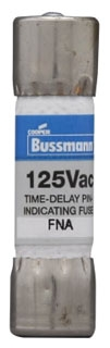 FNA10 BUS 125V IND FUSE
