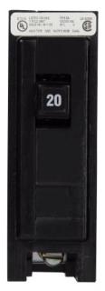 BAB1020 CH CIRCUIT BREAKER 1P 20 AMP 120/240V